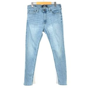 Hollister super skinny jeans 33x32 *stains